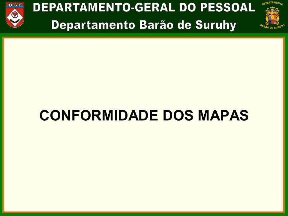 CONFORMIDADE DOS MAPAS