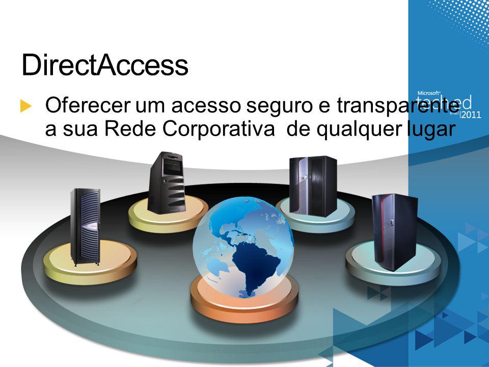 DirectAccess Oferecer um acesso seguro e transparente a sua Rede Corporativa de qualquer lugar