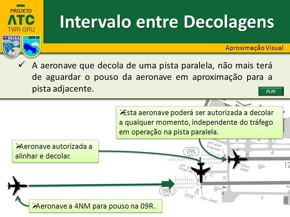  Aeronave a 4NM para pouso na 09R.  Aeronave autorizada a alinhar e decolar.  Aeronave autorizada a alinhar e decolar.  Esta aeronave poderá ser a