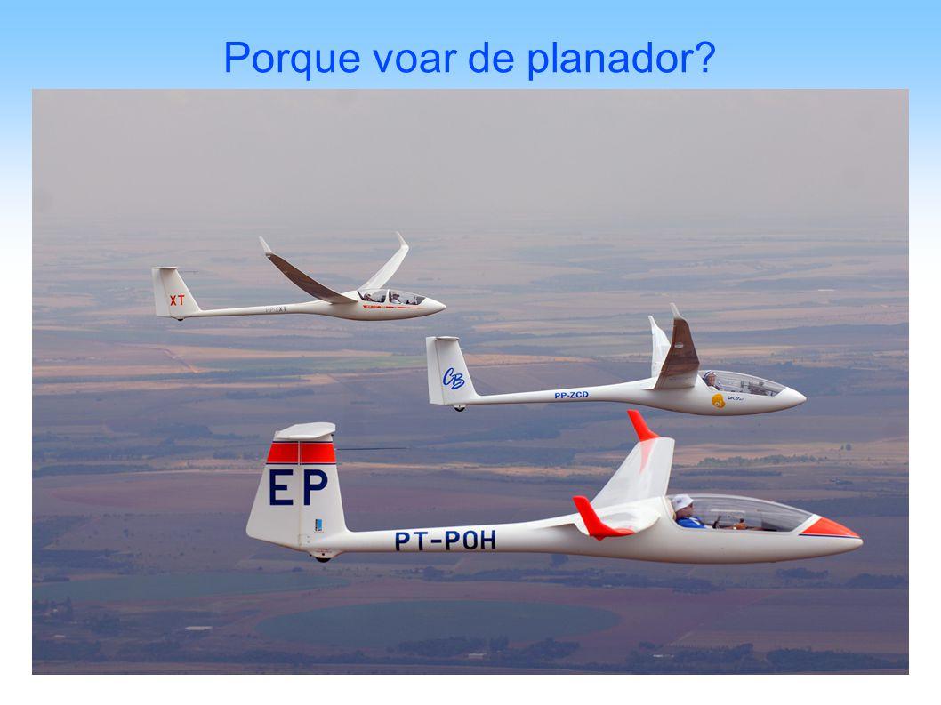 Porque voar de planador?