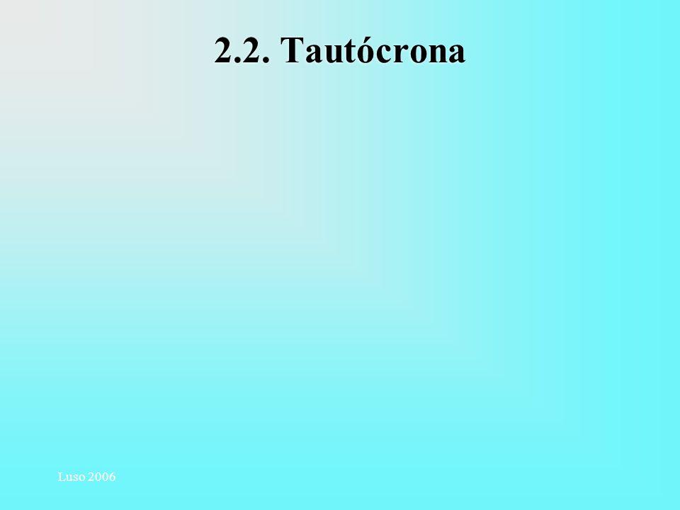 Luso 2006 2.2. Tautócrona