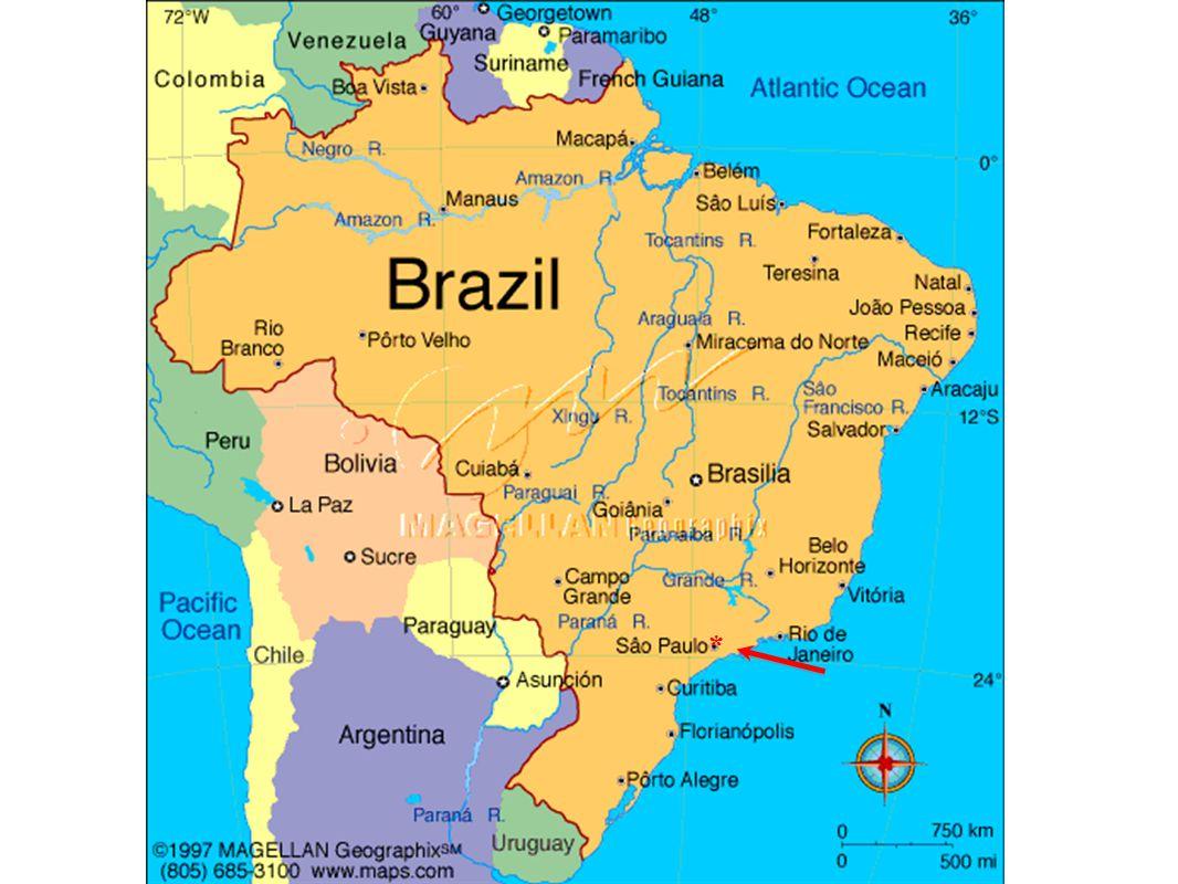 SÃO PAULO: 7 a maior cidade do planeta, ~11M residentes, ~20M na área metropolitana