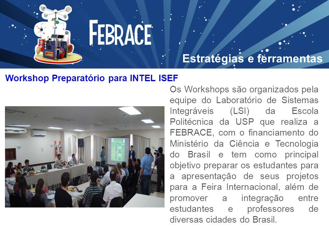 Os Workshops são organizados pela equipe do Laboratório de Sistemas Integráveis (LSI) da Escola Politécnica da USP que realiza a FEBRACE, com o financ