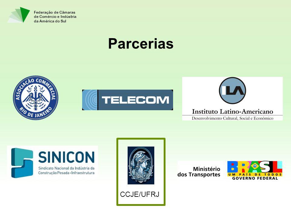 Federação de Câmaras de Comércio e Indústria da América do Sul Parcerias CCJE/UFRJ