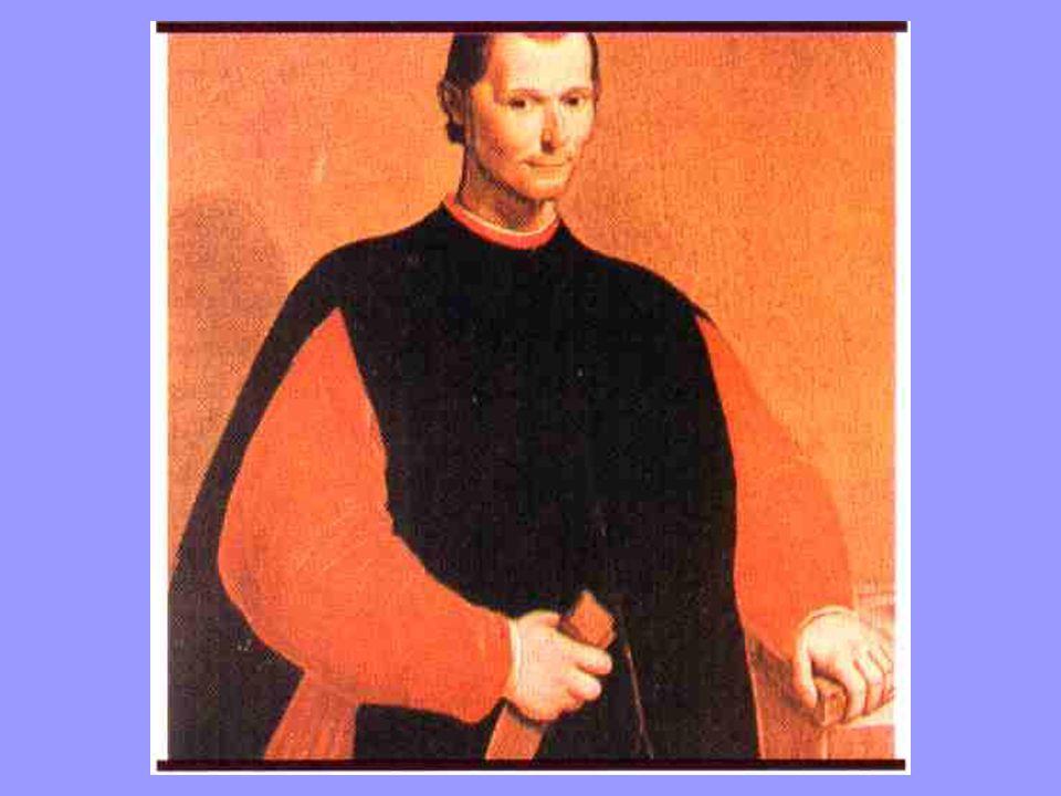 Nicolau Maquiavel 1469-1527