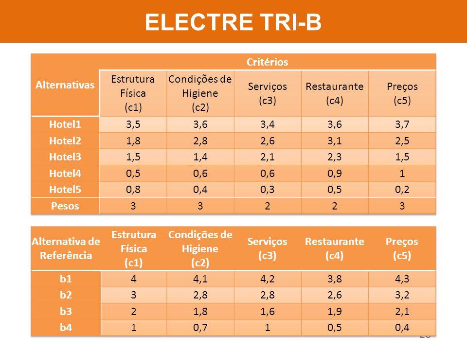 ELECTRE TRI-B 28