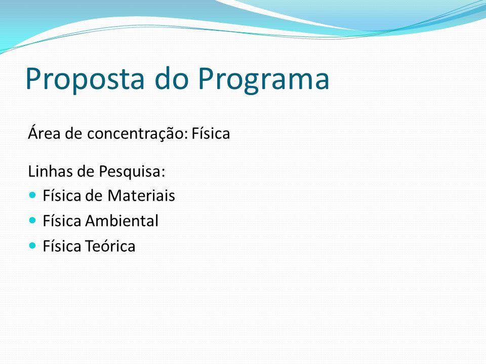 Projetos de Pesquisa em andamento - 2009 Física Ambiental Caracterização de minerais e matéria orgânica, e de propriedades físicas de solos.