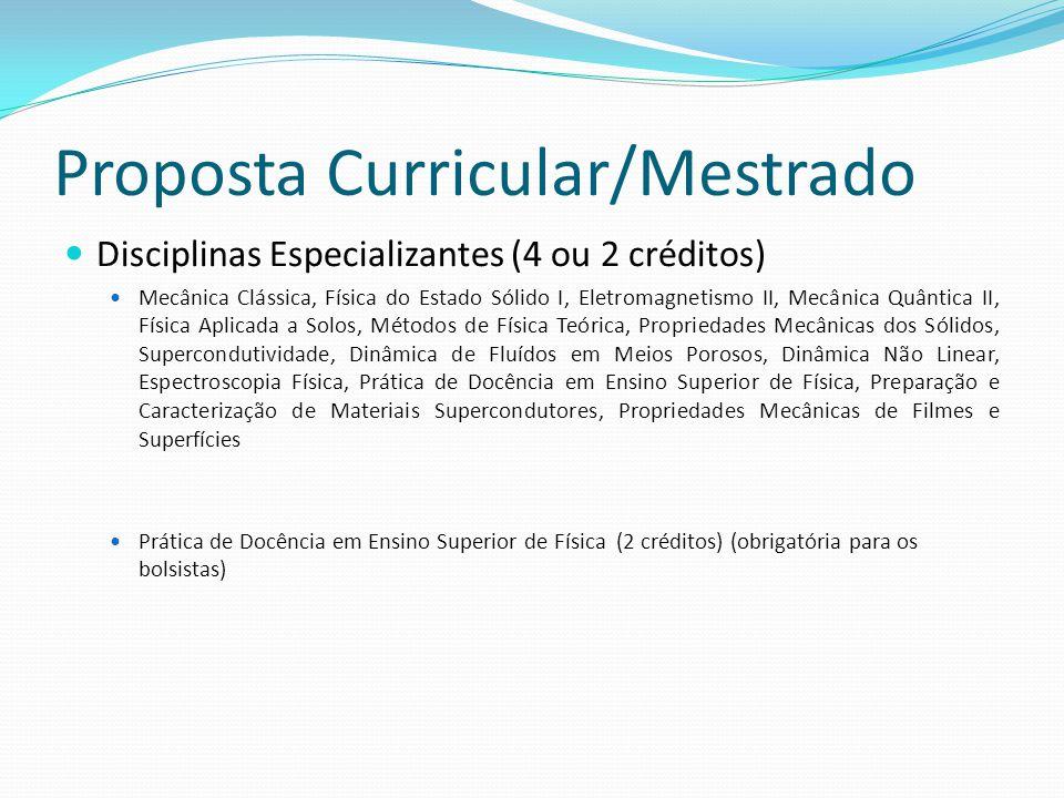 Corpo Docente Nome do Docente 200720082009TitulaçãoAnoDisciplina 2007 (G ou PG) Disciplina 2008 (G ou PG) Disciplina 2008 (G ou PG) Nível Bolsa CNPq Alcione Roberto Jurelo PPP Doutorado/Pós- doutorado 1998 1G/1PG2G/2PG3G/2PG2* André Belmont Pereira P Doutorado/Pós- doutorado 1997/2006 - - Antonio Marcos Batista PPC Doutorado/Pós- doutorado 2001 3G/1PG 2 Antônio Sérgio M.