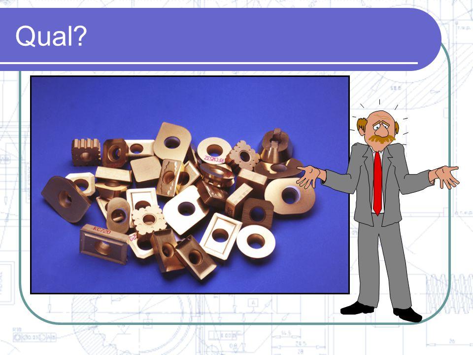 Seleção de ferramentas Dados Técnicos = Seleção de Inserto e Classe Sua Experiência +