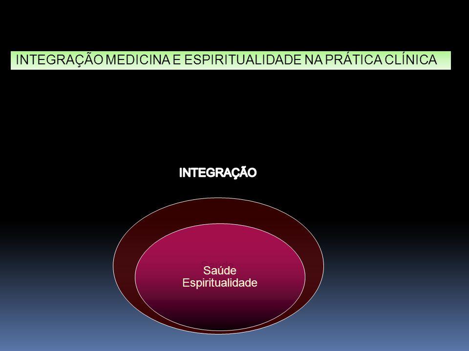 Saúde Espiritualidade INTEGRAÇÃO MEDICINA E ESPIRITUALIDADE NA PRÁTICA CLÍNICA