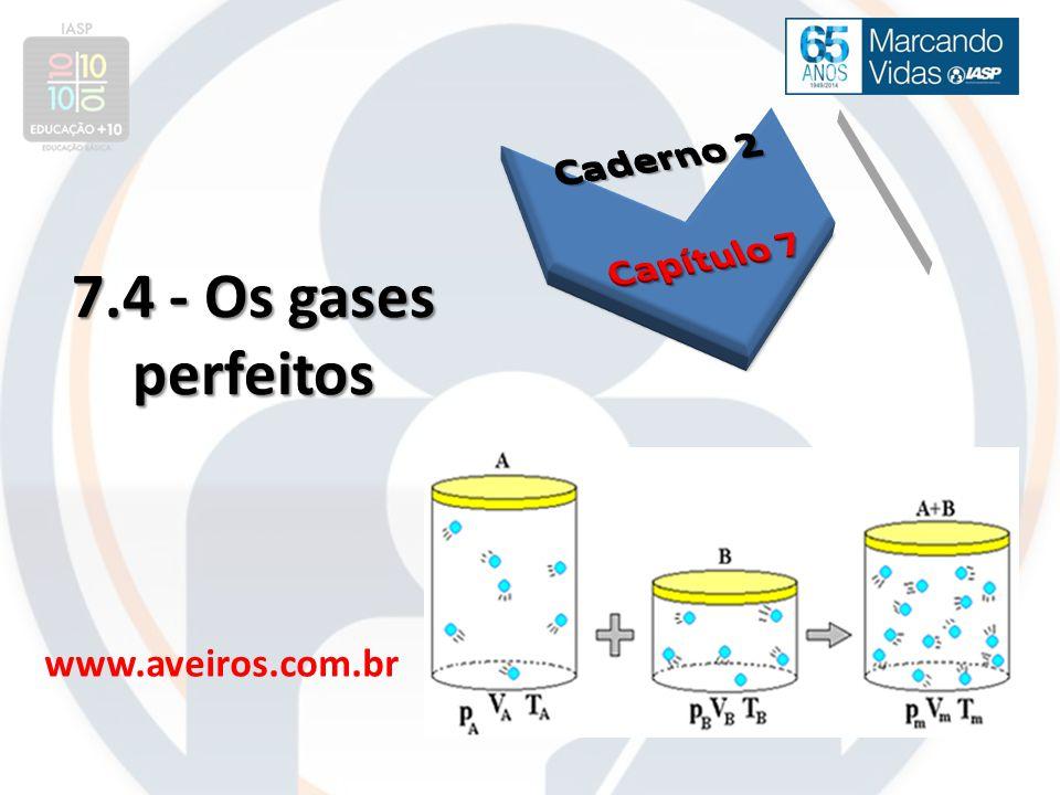 7.4 - Os gases perfeitos www.aveiros.com.br