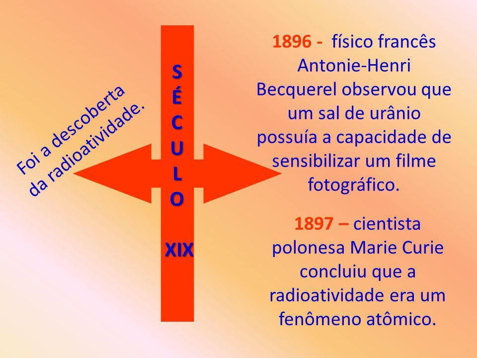 NATURAL OU ESPONTÂNEA: É a que se manifesta nos elementos radioativos e nos isótopos que se encontram na natureza.