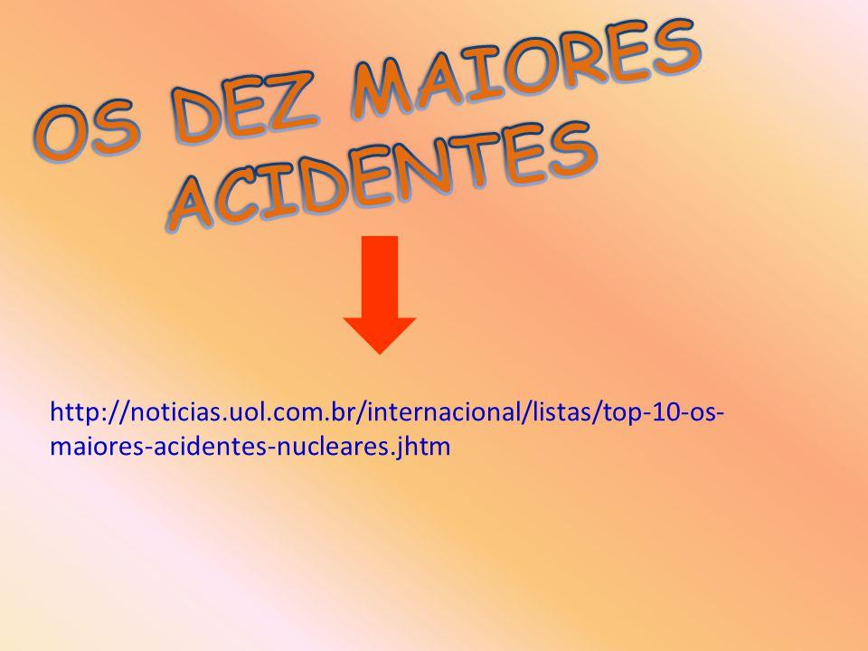 http://noticias.uol.com.br/internacional/listas/top-10-os- maiores-acidentes-nucleares.jhtm