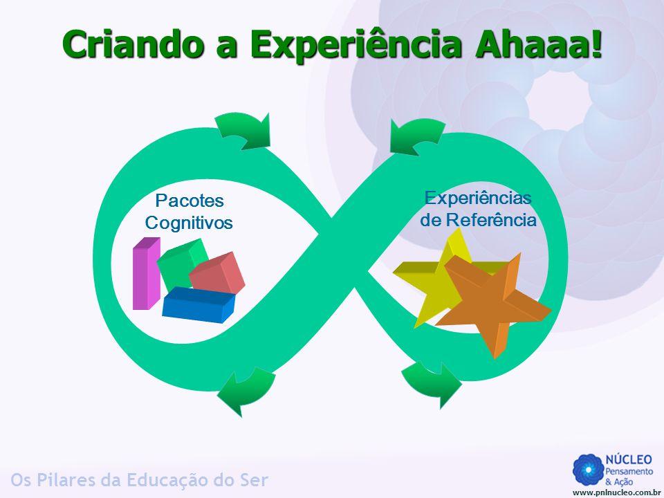 www.pnlnucleo.com.br Os Pilares da Educação do Ser 8 Criando a Experiência Ahaaa! Pacotes Cognitivos Experiências de Referência