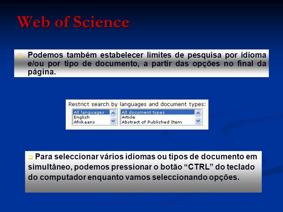   Pressionando o botão «Search», somos remetidos para uma página com todos os registos da base de dados que citam um autor com este nome.