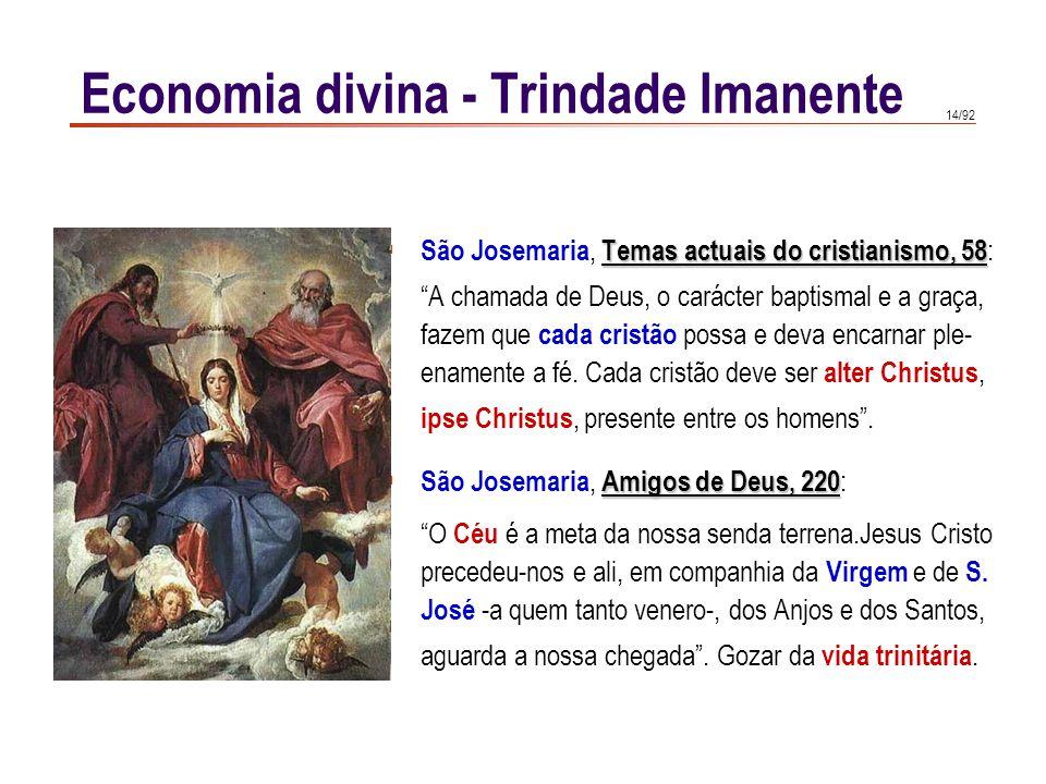 """14/92 Temas actuais do cristianismo, 58  São Josemaria, Temas actuais do cristianismo, 58 : """"A chamada de Deus, o carácter baptismal e a graça, fazem"""