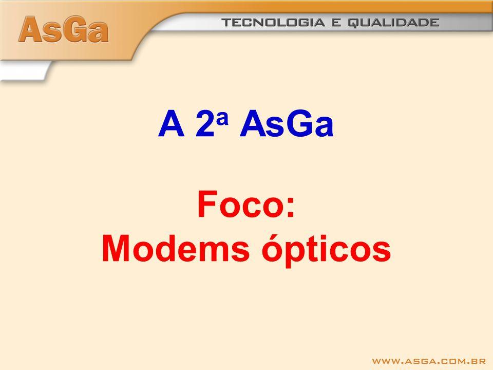 A 2 a AsGa Foco: Modems ópticos