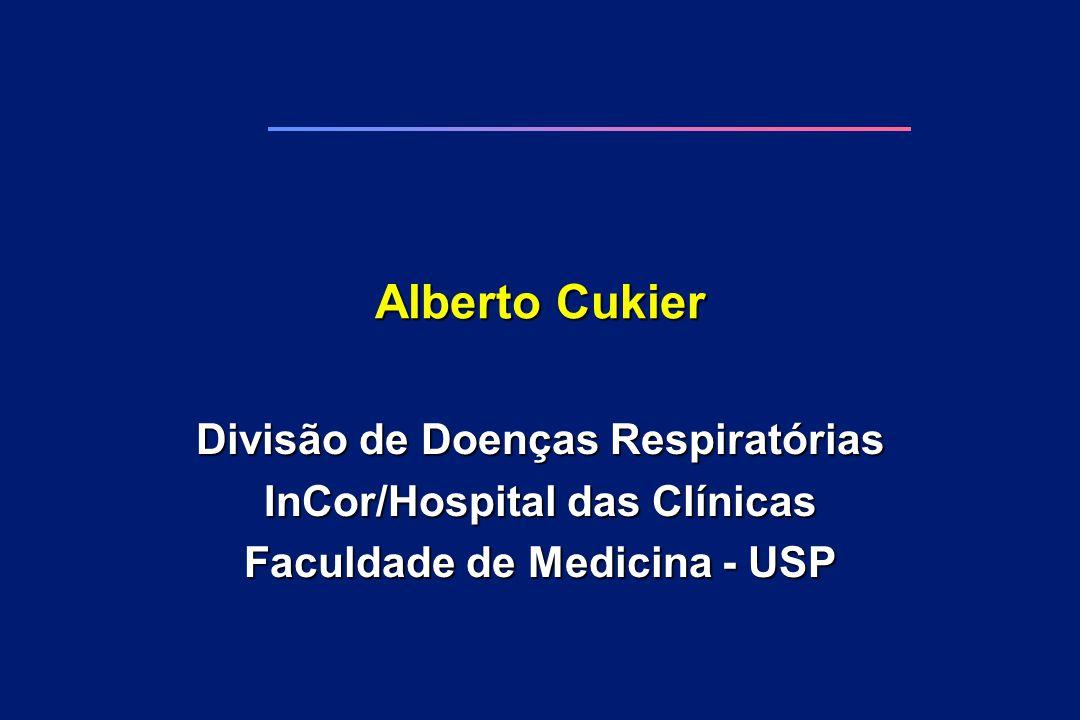 Alberto Cukier Divisão de Doenças Respiratórias InCor/Hospital das Clínicas Faculdade de Medicina - USP