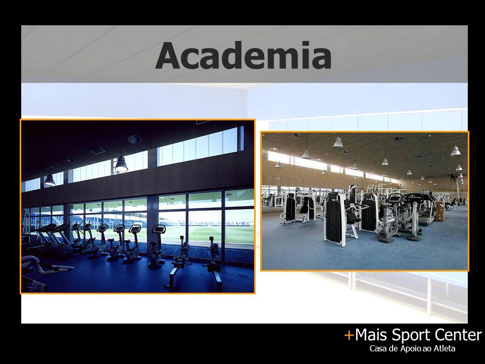 +Mais Sport Center Casa de Apoio ao Atleta Academia