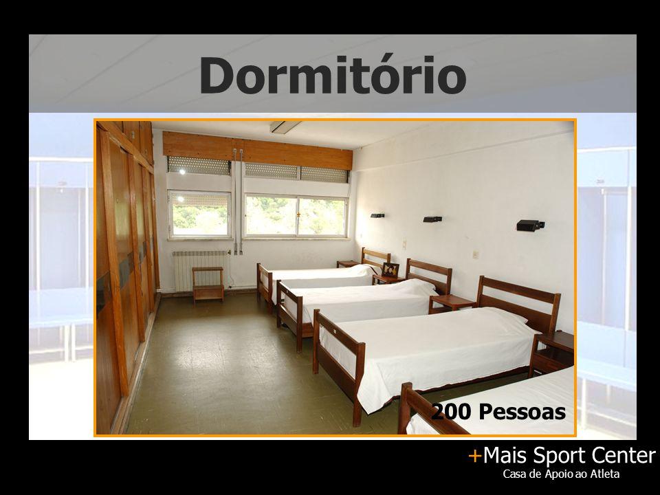 +Mais Sport Center Casa de Apoio ao Atleta Dormitório 200 Pessoas