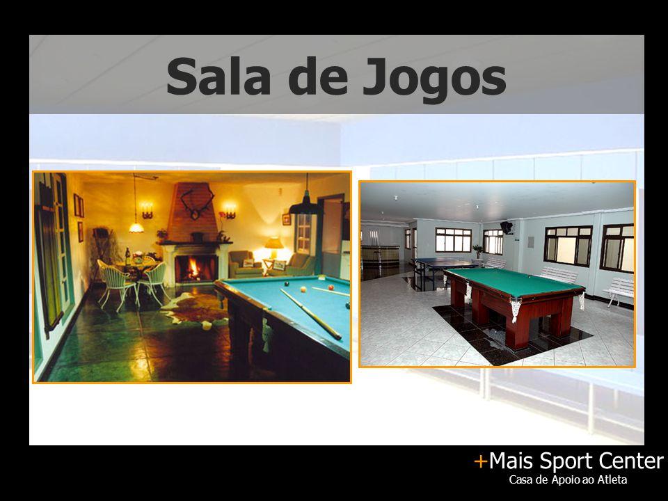 +Mais Sport Center Casa de Apoio ao Atleta Sala de Jogos