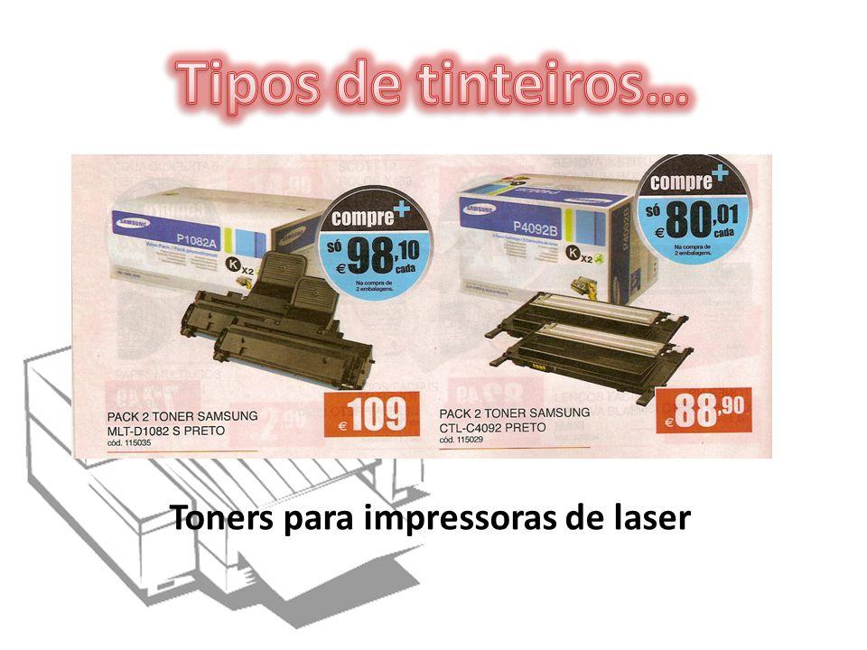 Toners para impressoras de laser