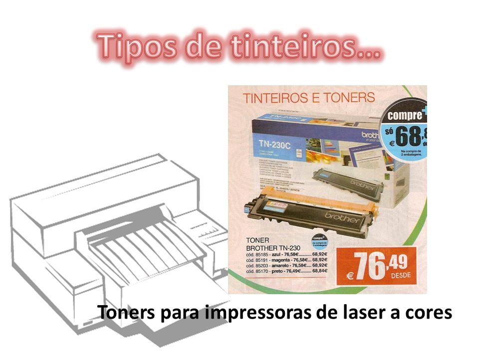 Toners para impressoras de laser a cores