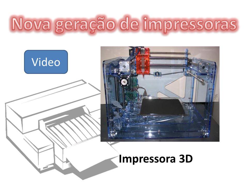 Impressora 3D Video