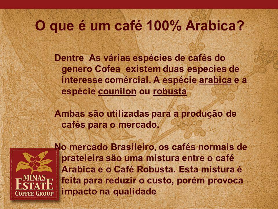 Que características Podemos buscar nos cafés Especiais.