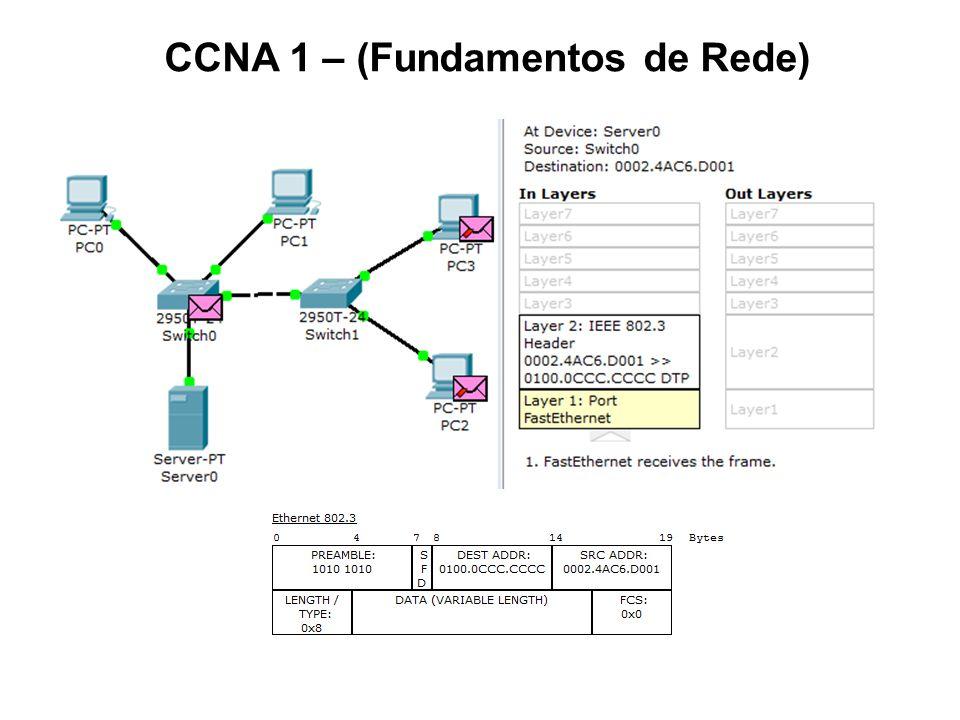 CCNA 1 (Fundamentos de Rede): Cap.1 - Introdução às Redes Cap.