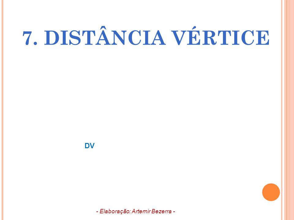 7. DISTÂNCIA VÉRTICE - Elaboração: Artemir Bezerra - DV