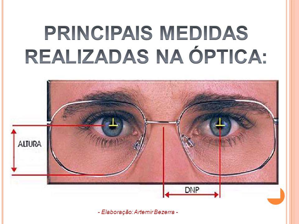 3. A.C.O. OU C.O. ALTURA DE CENTRO ÓPTICO - Elaboração: Artemir Bezerra -