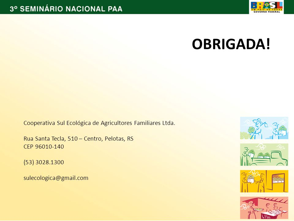 Cooperativa Sul Ecológica de Agricultores Familiares Ltda.