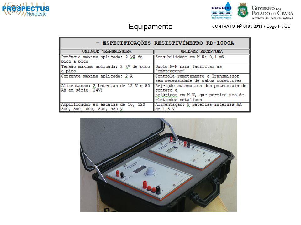 Equipamento CONTRATO N O 018 / 2011 / Cogerh / CE