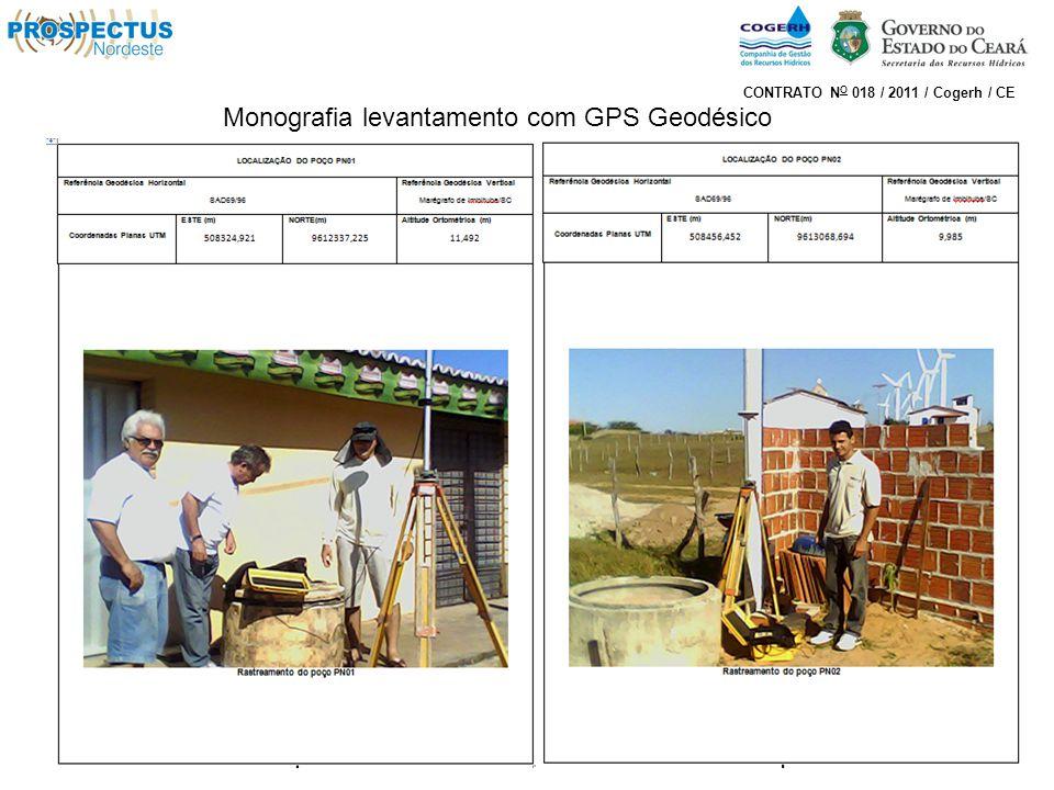 Monografia levantamento com GPS Geodésico CONTRATO N O 018 / 2011 / Cogerh / CE
