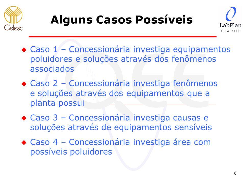 UFSC / EEL 17 Estudo de Caso