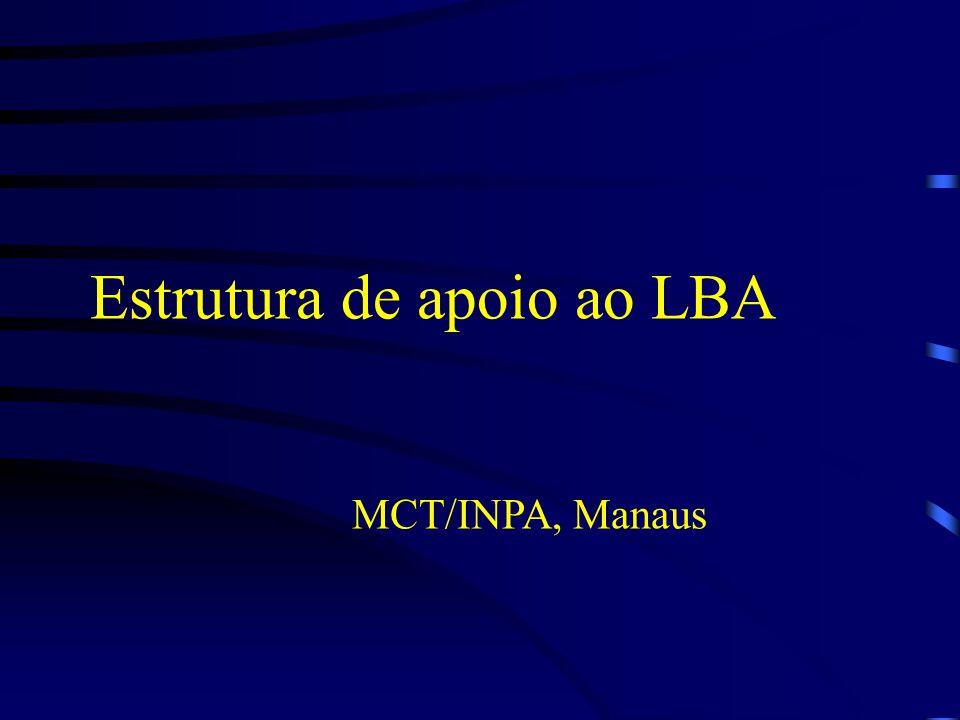 Estrutura de apoio ao LBA MCT/INPA, Manaus
