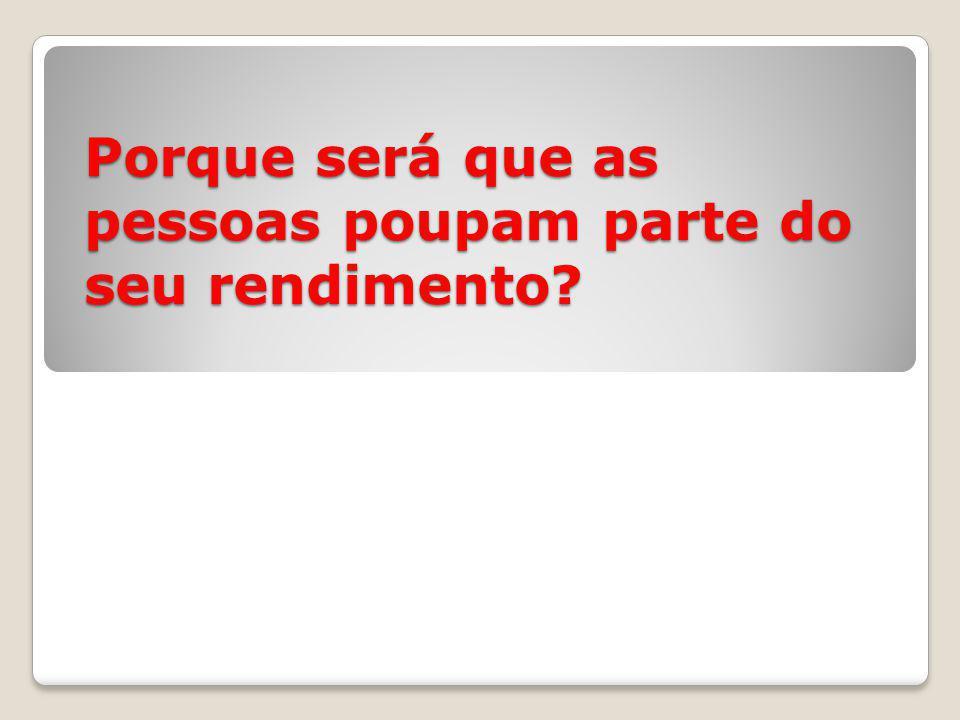 C) Poupança/investimento A produção de bens e serviços precisa de bens duráveis (capital).