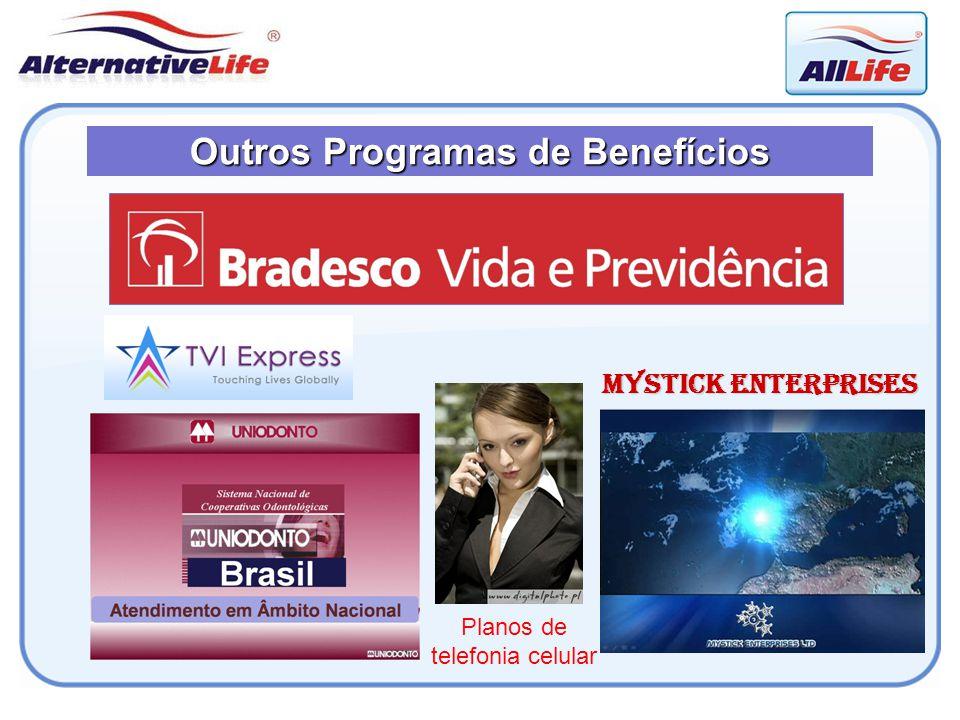 Outros Programas de Benefícios Mystick Enterprises Planos de telefonia celular