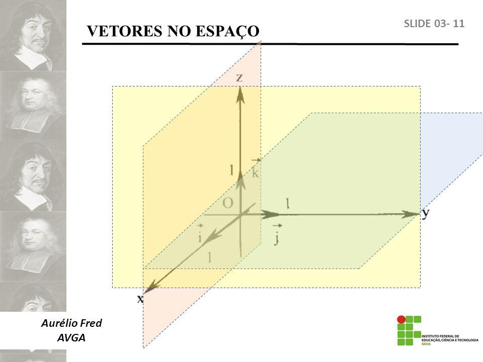 Aurélio Fred AVGA VETORES NO ESPAÇO SLIDE 03- 11