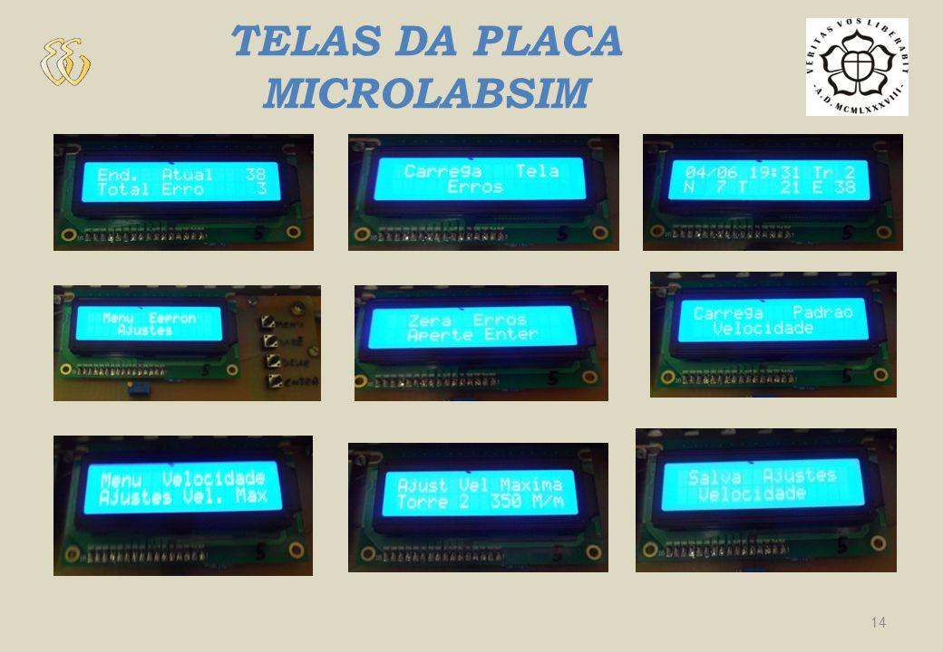 TELAS DA PLACA MICROLABSIM 14