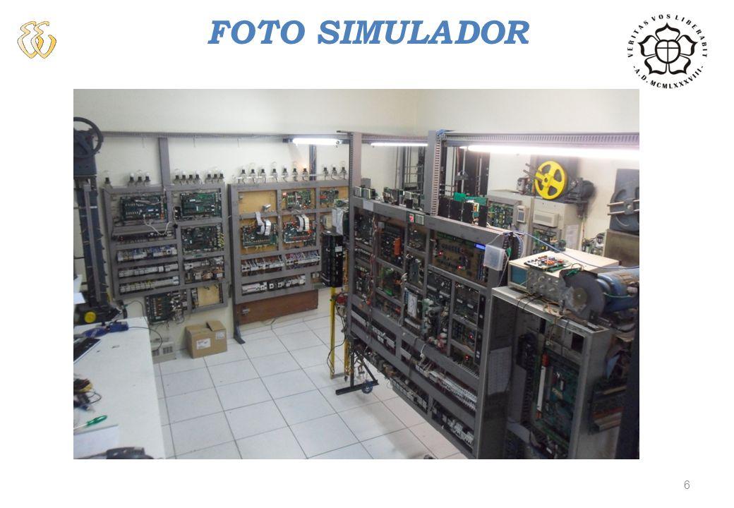 OBJETIVOS Desenvolver um Sistema de Aquisição, placa Microlabsim, para capturar sinais provenientes de um Simulador, utilizado para testar placas de comando de elevadores.