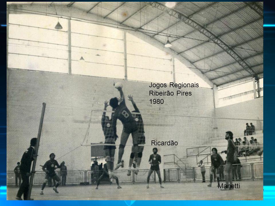Ricardão Jogos Regionais Ribeirão Pires 1980 Manetti