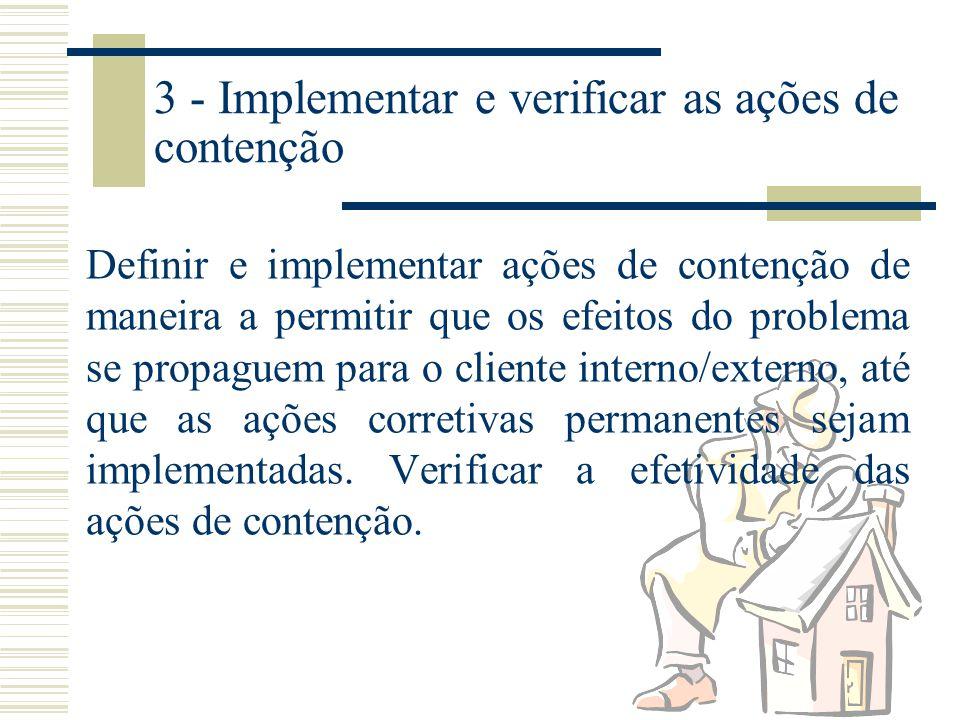 2 - Descrever o problema Especificar o problema do cliente interno/externo, identificando