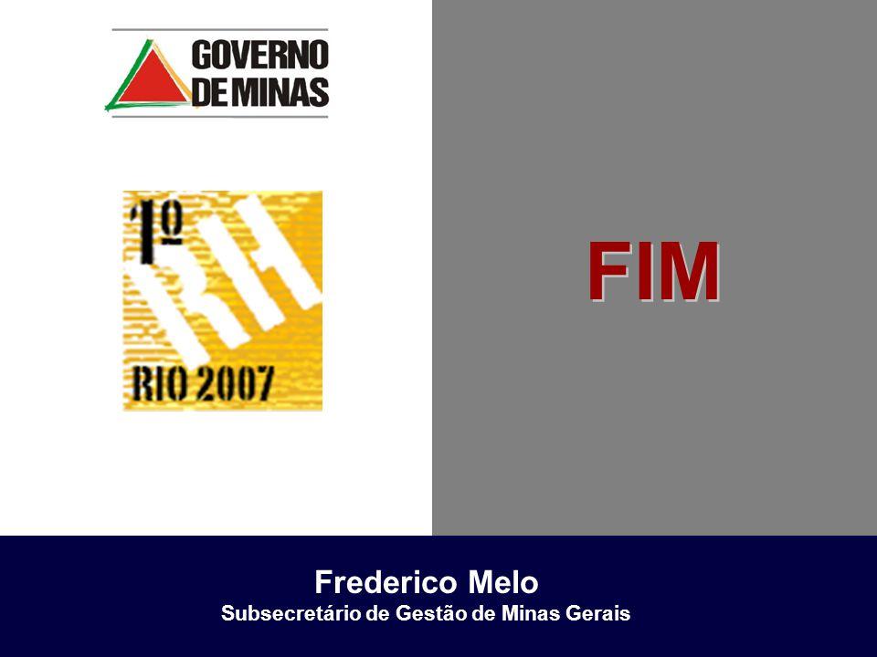 FIM Frederico Melo Subsecretário de Gestão de Minas Gerais