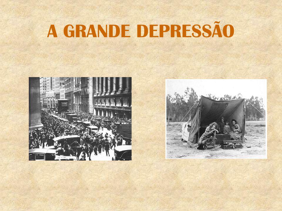 CÍRCULO VICIOSO DA CRISE Depois do crash, instalou-se a crise financeira, que veio piorar ainda mais a crise de superprodução já existente.