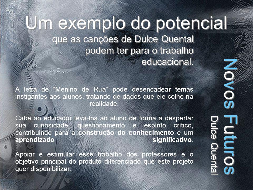 Um exemplo do potencial que as canções de Dulce Quental podem ter para o trabalho educacional.