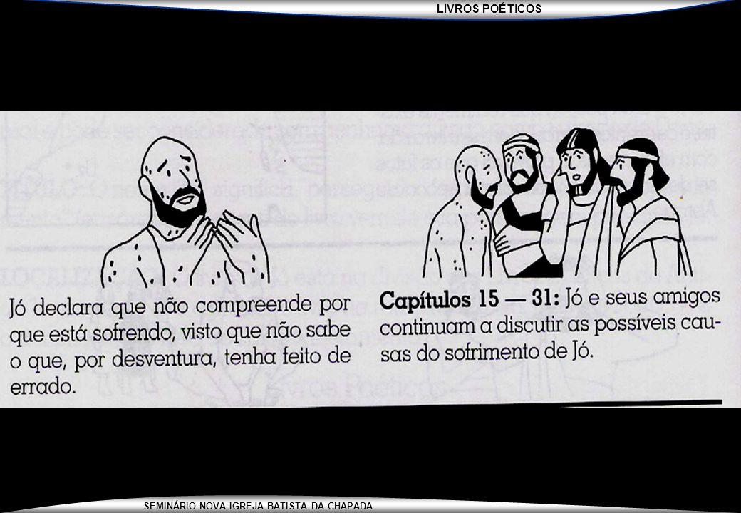 LIVROS POÉTICOS SEMINÁRIO NOVA IGREJA BATISTA DA CHAPADA