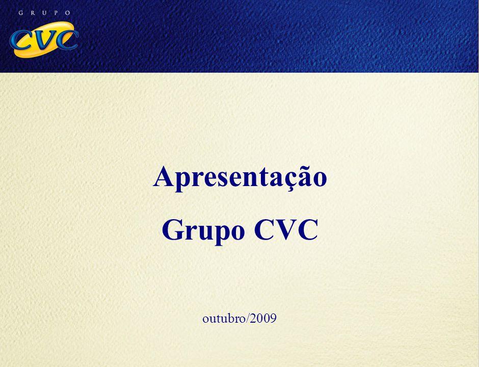 Apresentação Grupo CVC outubro/2009