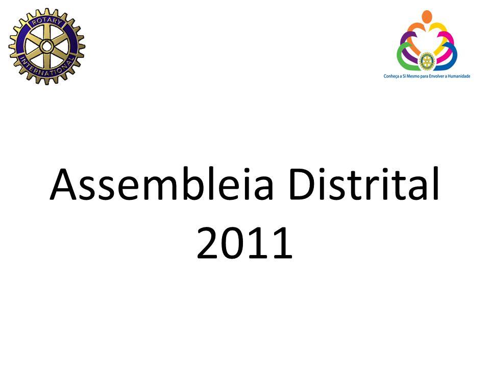 Assembleia Distrital 2011